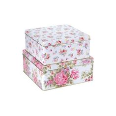 Cath Kidston (95 BRL) ❤ liked on Polyvore featuring home, home decor, fillers, boxes, decor, other and cath kidston