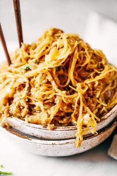 Spicy spaghetti squa