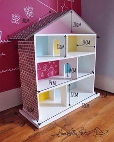 Домик для игр и хранения книг и игрушек