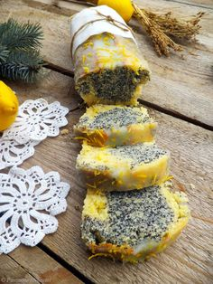 Cake with poppy seeds and lemon | Passions Mihaela