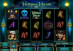 Victorian Villian is a video slot with  5 reels and 243 paylines. Like all online slots from Microgaming, this particular one has many interesting bonus features. Dropping on 3 three middle reels Scatter icon offers you a few choices of 15, 10 and 5 bonus spins and 3X, 5X and 10X multipliers. When Bonus image appears on 3 last reels it gives you another pick 'em bonus game.