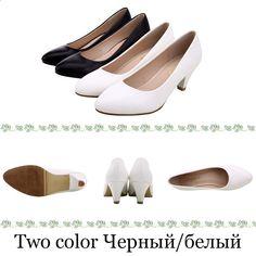 Décolleté YALNN Donna Classici Tacchi alti Scarpe a punta Daily Shoes  Taglie forti Scarpe estive bianche 921452b3860