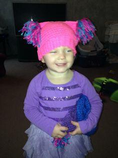 Miss Petal and her newest hat Braids, Crochet Hats, Beanie, Fashion, Bang Braids, Knitting Hats, Moda, Cornrows, Fashion Styles