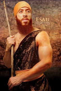 """ESAU. /// """"Icons of the Bible"""" by photographer James C. Lewis of Noire3000 / N3K Photo Studios"""
