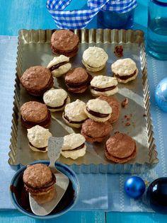 Hafer-Macarons