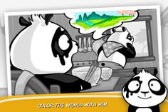 COLOR THE WORD WITH YOUR CUTEST FRIEND The little Panda Decides to Realize Granny Dream and Goes to Color The World For Her, Because he Would Like to See His Granny Happy And To Receive The Fabulous Baked Bamboo  More at:-http://www.blackwhitelife.com/