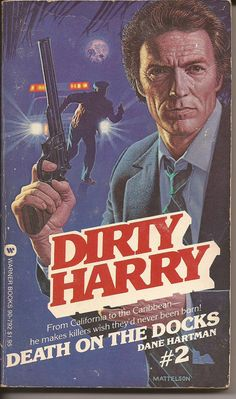 Warner Books Dane Hartman Dirty Harry 2 Death by PurkeysPaperbacks