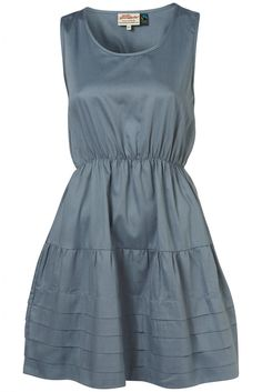 Pleat Hem Dress Damen Kleider
