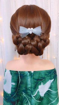 Super Easy Hairstyles, Cute Little Girl Hairstyles, Wedding Ponytail Hairstyles, Braided Hairstyles, Serena Van Der Woodsen, Long Hair Video, Hair Videos, Makeup Videos, Gorgeous Hair
