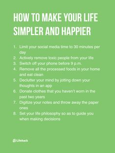 Decluttering will make you happier
