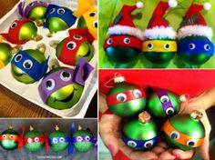 DIY Ninja Turtle Ornaments | The WHOot