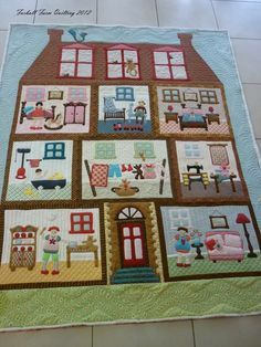 She now has a CD of dollhouse patterns born out of this quilt. Description from pinterest.com. I searched for this on bing.com/images