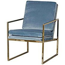 Good Samt Stuhl Samt Sessel Hochwertige M bel Designer M bel Messing Beistelltisch Modernes Design Minimalismus Design Minimalist Decor L u