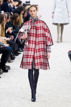 Plenty of plaid at Céline Fall 2013 #runway #fashionweek
