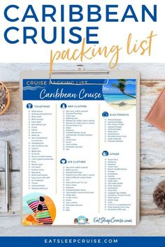 If you are planning a Caribbean cruise vacation, be sure to download our free printable packing list for what to wear and tips on what to bring to make your cruise the best and most comfortable… Packing List For Cruise, Cruise Tips, Cruise Vacation, Packing Tips, Travel Packing, Cruise Excursions, Cruise Destinations, Caribbean Vacations, Caribbean Cruise