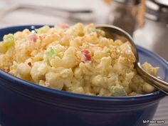 Our easy recipe for Basic Macaroni Salad is a potluck staple. No frills in this macaroni salad! This macaroni salad has the same classic taste you love and remember growing up with.