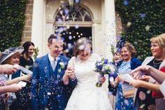 Confetti Toss! Photo via Love My Dress
