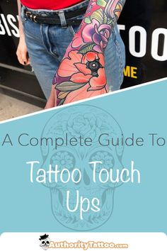 Wondered what's involved in a tattoo touch up, or when a tattoo touch up might be required? We explain all in this article. Tattoo Touch Up, Get A Tattoo, Up Tattoos, Tatoos, Tattoo Equipment, Tattoo Aftercare, Tattoo Designs, Tattoo Ideas, How To Know