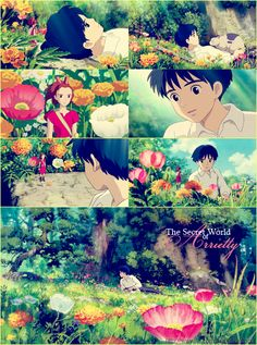 The Secret World of Arrietty.  My siblings and I saw this movie in theatres. It was a cute story... I think it would be fun to step into her world..... but I would choose to live in the doll house! :-)