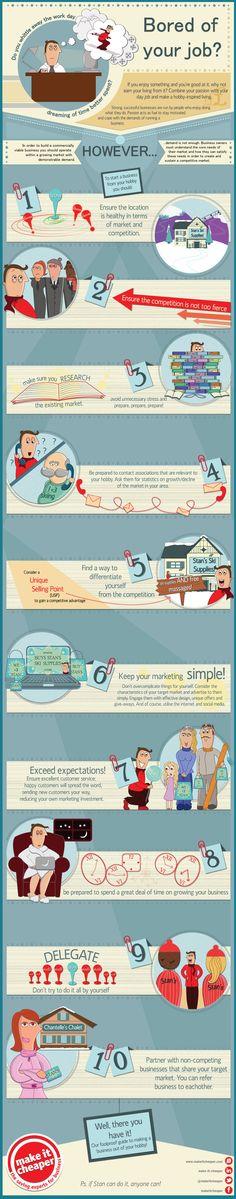 ¿Aburrido de tu trabajo? #infografia #infographic