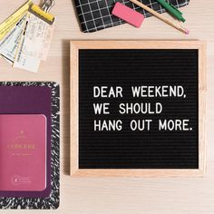 Enjoy the long weekend, folks! #letterfolkquotes