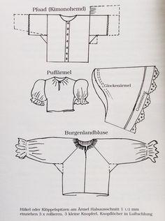 burgenländisches Pfoad Diagram, Fashion Styles, Dirndl