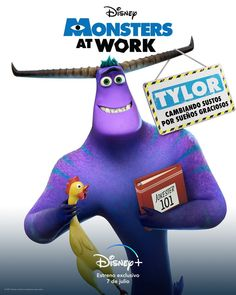 Ben Feldman, Netflix, Disney Monsters, July 7, Disney Plus, Pixar, Pop Culture, Dinosaur Stuffed Animal, Comedy