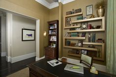 An Inspired Office/Study in Hollywood Regency Style -