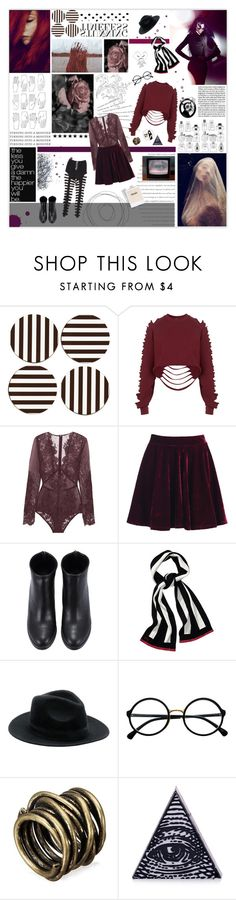 """""""Untitled #3292"""" by jenhoney ❤ liked on Polyvore featuring Henri Bendel, MANGO, The Ragged Priest, I.D. SARRIERI, Topshop, Juicy Couture, Magic Bullet and Retrò"""