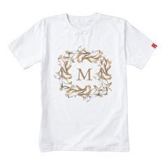 Gilded Wreath-M Zazzle HEART T-Shirt