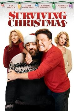 Surviving Christmas from about 2004 with Ben Affleck, James Gandolfini, Christina Applegate, Catherine O'Hara. Watched it twice in one week. Xmas Movies, Best Christmas Movies, Family Movies, A Christmas Story, Hd Movies, Movies Online, Holiday Movies, Merry Christmas, Christmas Decor