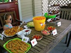 angry bird party food