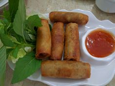 Assorted spring rolls at Pho Hung Rach Gia, Ho Chih Minh City