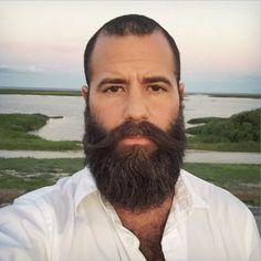 brown beard