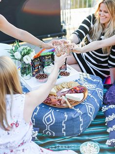 Cheers to girls' night! {tips for hosting one of your own on LaurenConrad.com}