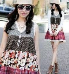 Parchwork Dress 3