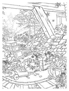 AmazonSmile: Disney Dreams Collection Thomas Kinkade Studios Coloring Book (0050837360075): Thomas Kinkade: Books
