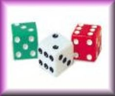 bunco parti, dot dice, dice set, school store