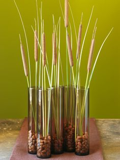 Creative Fall Centerpieces Featuring Natural Elements from Better Homes and Gardens