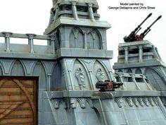 Warhammer Terrain, 40k Terrain, Wargaming Terrain, Warhammer Imperial Guard, Modeling Tips, Warhammer 40k Miniatures, Warhammer 40000, Statue Of Liberty, Scenery