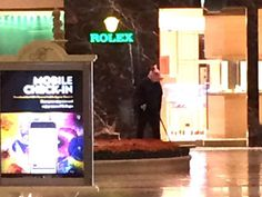 Las Vegas: Mass panic at Bellagio hotel after armed robber wearing pig mask opens fire in Rolex shop