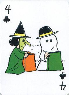 https://flic.kr/p/dd2yw8 | Peanuts Great Pumpkin Playing Cards | From the Peanuts Great Pumpkin card deck set.