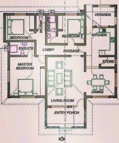 Free House Plans, Sims House Plans, House Layout Plans, Bungalow Floor Plans, Home Design Floor Plans, 2 Storey House Design, Bungalow House Design, Affordable House Plans, Casa Loft