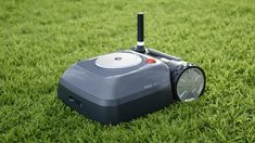 iRobot has unveiled the Terra robot lawn mower. The Roomba for your lawn will be available in Germany and as part of a U. beta program later this year. Battery Powered Lawn Mower, Der Clou, I Robot, Backyard Garden Design, Home Upgrades, Lawn Care, Landscape Design, Modern Design, Product Launch