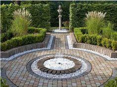 pebble garden ideas pebble paving garden patio designs uk