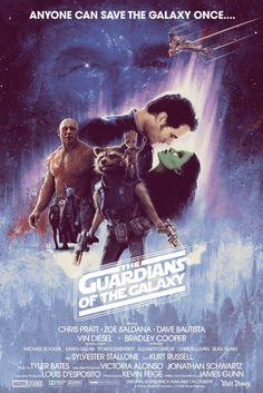 L'Affiche des Gardiens de la Galaxie Vol.2 version Empire Contre-Attaque par Matt Ferguson ! #illustrationand art #feedly