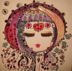 canan berber... Illustrations, Illustration Art, Africa Art, Turkish Art, Ancient Art, Love Art, Oeuvre D'art, Art Pictures, Art Lessons