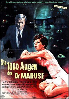 El Oscuro Rincón del Terror: LOS CRÍMENES DEL DR. MABUSE / DIE 1000 AUGEN DES D...