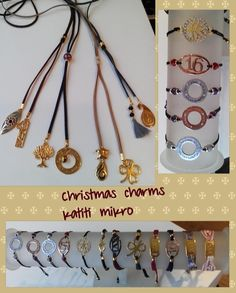 Christmas charms for necklace and  bracelets