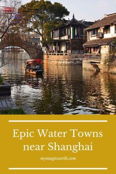 12 Epic ancient water towns near Shanghai are totally different from Shanghai. T… Sponsored Sponsored 12 Epic ancient water towns Tokyo Japan Travel, Japan Travel Guide, Japan Trip, Vietnam Travel, Thailand Travel, Asia Travel, Bangkok Thailand, Shanghai, Ubud